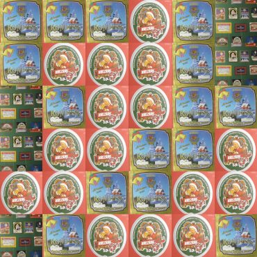 Wystawa świątecznych etykiet
